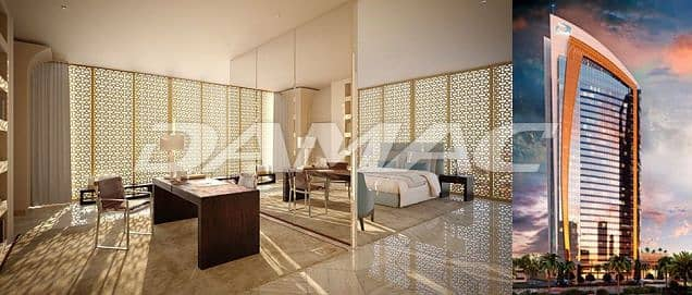 1 Bedroom Apartment for Sale in Riyadh, Riyadh Region - 1 Bedroom Serviced hotel apartment overlooking the Kingdom Tower in Riyadh, with award-winning interiors by iconic Italian fashion house, Fendi Casa