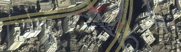 أرض للبيع في مكة - طريق الملك عبد العزيز أمام القصر الملكي