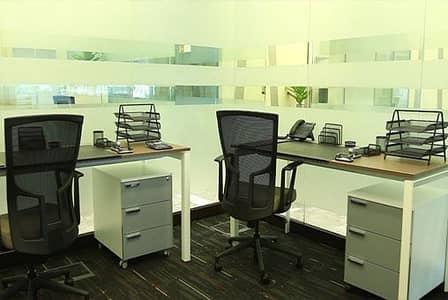 مكتب  للايجار في البدائع، منطقة القصيم - Equipped offices for startups - affordable monthly payments
