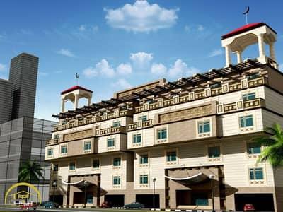 شقة خلفية دور مرتد 1 على شارع 12 م تحت الإنشاء للبيع في حي الرصيفة / مكه المكرمة
