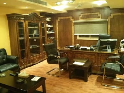 Office for Rent in Riyadh, Riyadh Region - Office (four rooms) 120 is equipped with full Furnisher