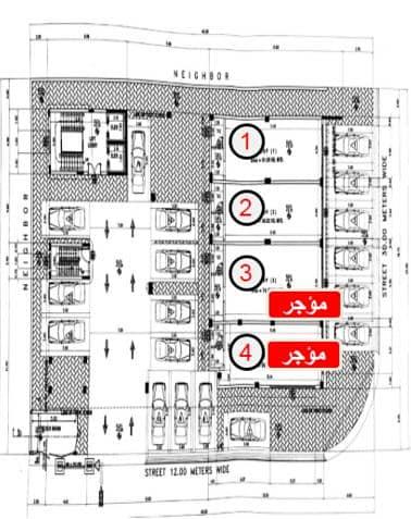 معرض للايجار في الدمام شارع الاول قبل برج الجفالي مساحتة 107. 957 متر مربع