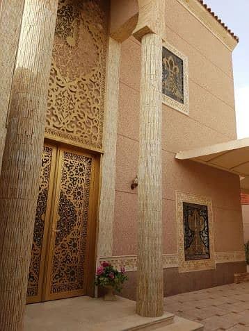 فیلا  للبيع في الرياض، منطقة الرياض - للبيع فيلا مساحة 625 حي الياسمين مستخدم دور ونص وشقتين مستخدم سنة