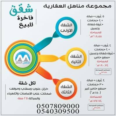 5 Bedroom Flat for Sale in Taif, Western Region - انفوقراف تعريفي