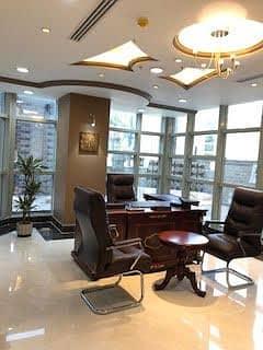Office for Rent in Riyadh, Riyadh Region - مكاتب مجهزه ومؤثثه بالكامل في شمال الرياض للتأجير