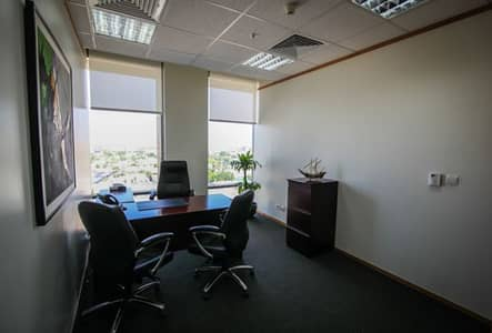 Office for Rent in Riyadh, Riyadh Region - Unbranded 5 Star Serviced Office in Jameel Square