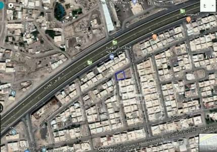 Residential Land for Sale in Madina, Al Madinah Region - land area of ​​552 meters on the two front for sale