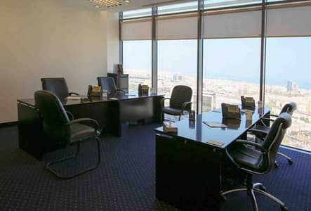 Fully Furnished Serviced Offices in Al Hugayet Tower