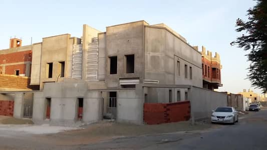 فیلا  للبيع في جدة، المنطقة الغربية - فيلتين على أرض واحدة للبيع بمخطط النور بجدة